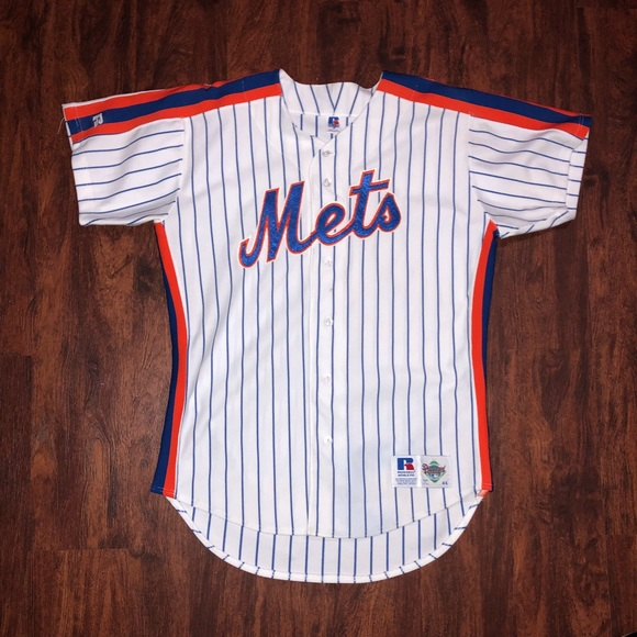 online store 754a7 621ea New New York Mets baseball MLB jersey Russell